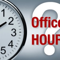 Feis Office Hours week of 4th Nov.
